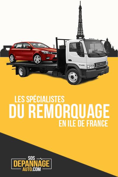 publicité remorquage et dépannage Paris et IDF