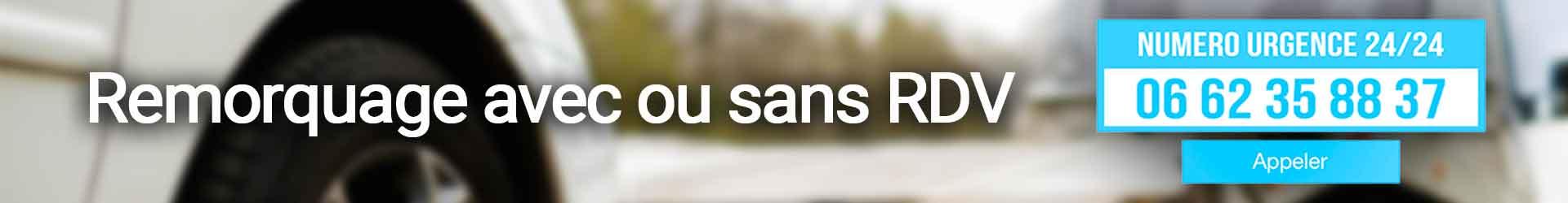 numéro d'urgence remorquage à Paris et Ile de france